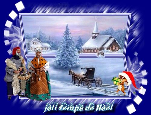 joli temps de Noël