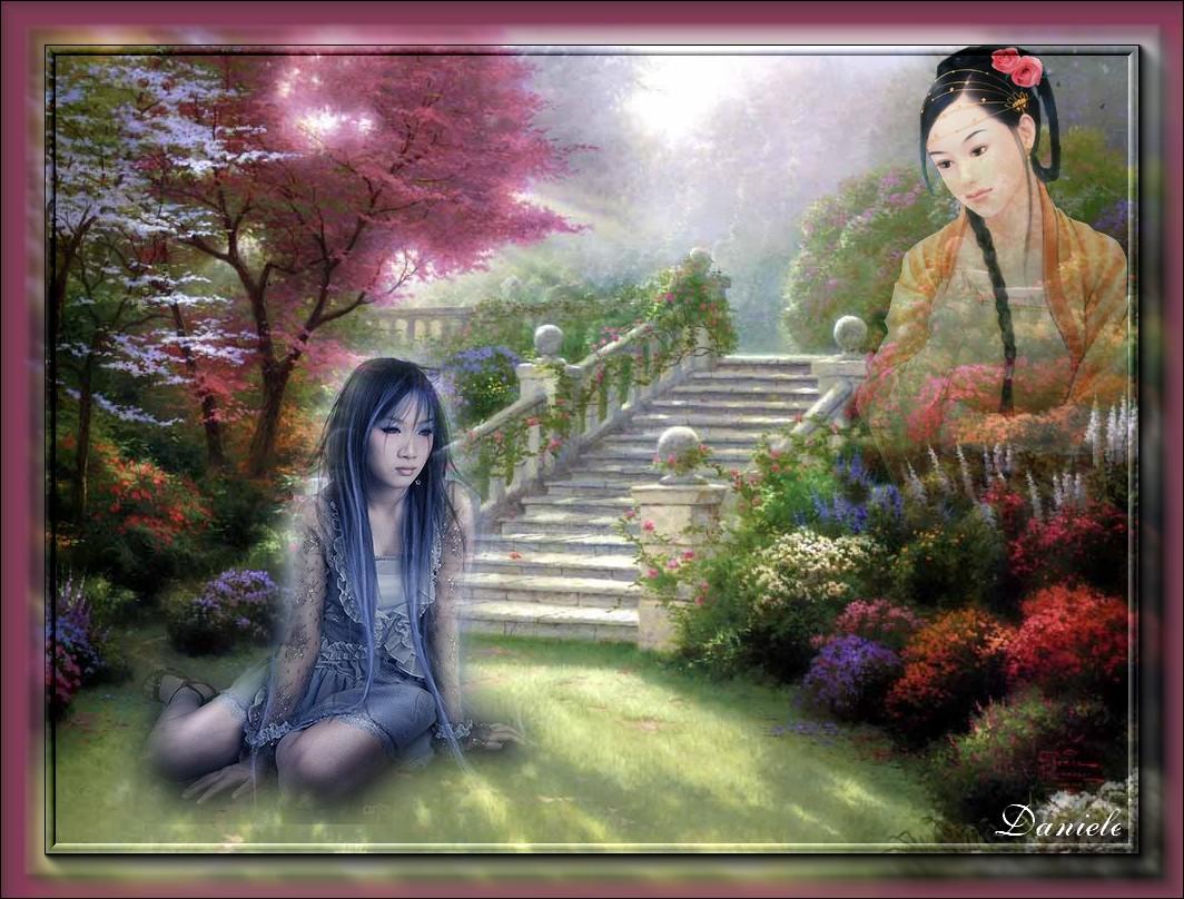Mélancolie au jardin