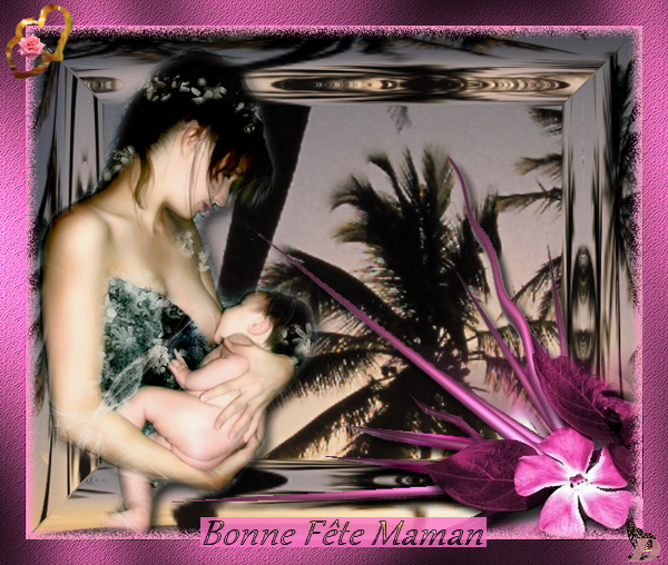 fete des mamans sous les palmiers