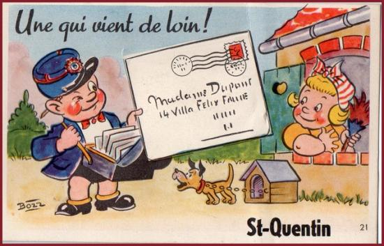 Carte st quentin