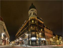 City ville light lumiere night nuit art deco saint quentin paul architecture